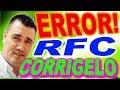COMO CORREGIR RFC EN INFONAVIT 2018