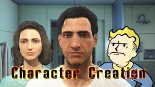 FALLOUT 4 - OPENING CUT SCENE & CHARACTER CREATION!