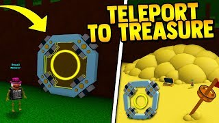 TELEPORT TO END!! (new item!) | Build a boat for Treaure ROBLOX