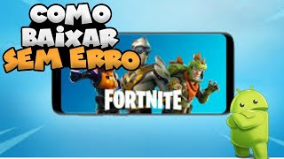 (8.51) How to download and install Fortnite on incompatible phones (GPU error and fixed VPN)