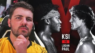 KSI VS LOGAN PAUL FIGHT PREDICTIONS!!!