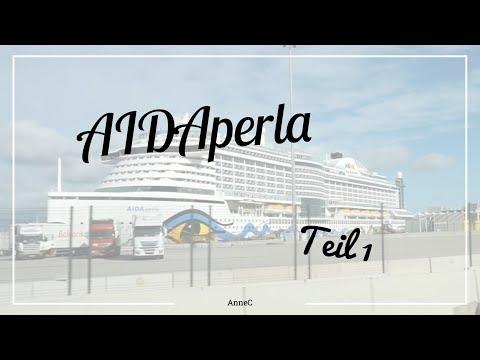 AIDAperla | Anreise | Erster Tag | AnneC