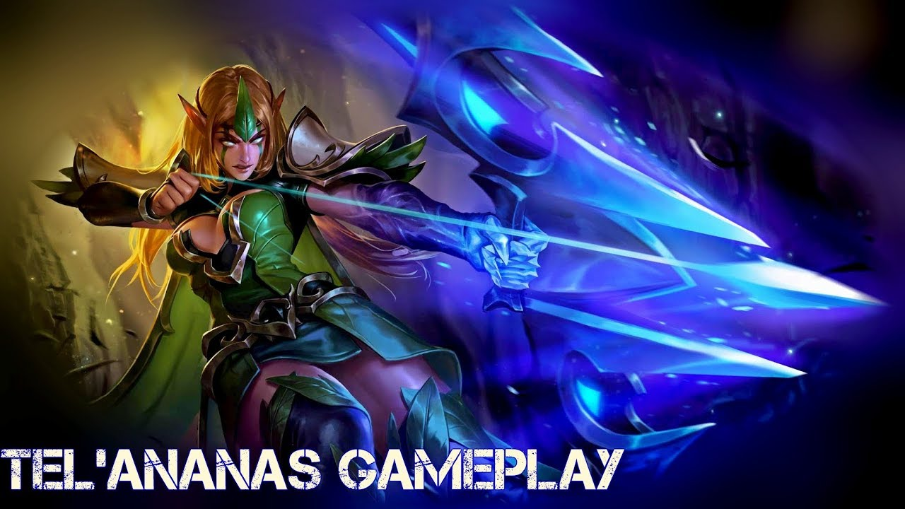 Arena Of Valor Telannas Gameplay