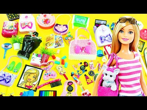 100 DIY MINIATURE BARBIE DOLLHOUSE ACCESSORIES  & Lifehacks #1  - simplekidscrafts