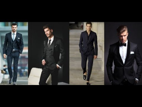 Latest Men S Wedding Black Suits Collection 2018 Men Wedding Suits Lookbook Perfect Beauty Light Youtube