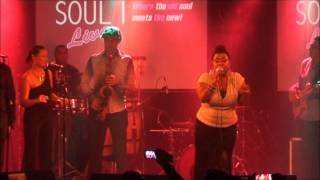 MICHELLE DAVID & SOMETHIN' FRESH @ SOUL LIVE, DEN BOSCH 08