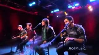 Big Time Rush Beautiful Christmas Acoustic AOL Music Set Flv