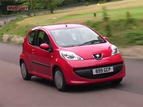Peugeot 107 review - What Car? - YouTube