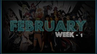 ► Top 20 | Anime Opening Charts | Week - 1 | Month (FEBRUARY) | (HD)