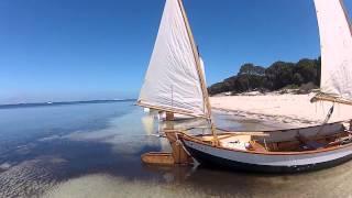Old Gaffers Sail Along Garden Island