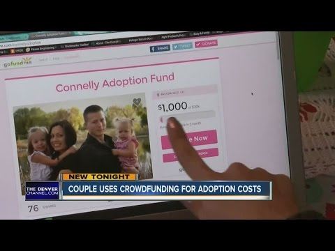 Couple uses crowdfunding for adoption costs