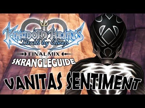Skrangleguide: Vanitas Sentiment - Kingdom Hearts Birth By Sleep FM