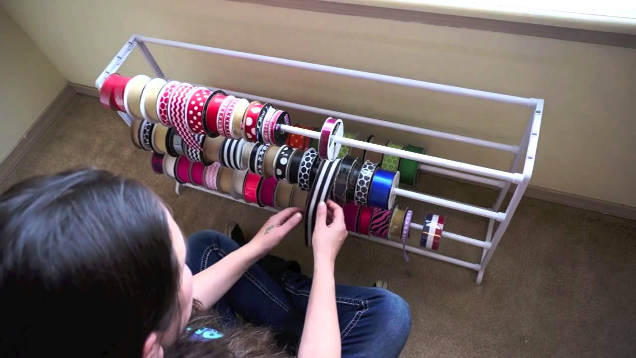 Ribbon Organizer Ideas With Artemis In Love