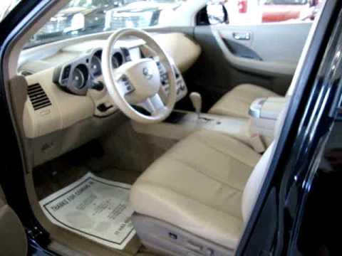 2007 Nissan Murano SL Black VEHICLEMAX NET 30388 Used