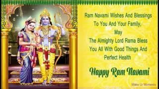 Sri Rama Navami 2017 Wishes / Greetings