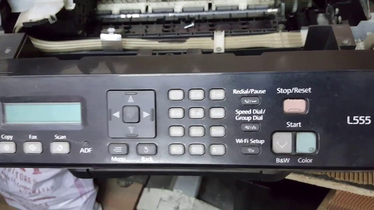 Epson L555 All In One Printer Paper Jam Problem Fix Part 3 Youtube