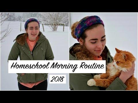 Homeschool Morning Routine | Cats Corner