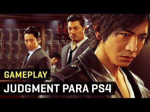 Gameplay Judgment De SEGA Para PS4. El Spin Off De Yakuza