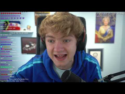 Download Reacting To Minecraft Live • @TommyInnit Twitch Live Stream [ Full ] 16 Oct , 2021