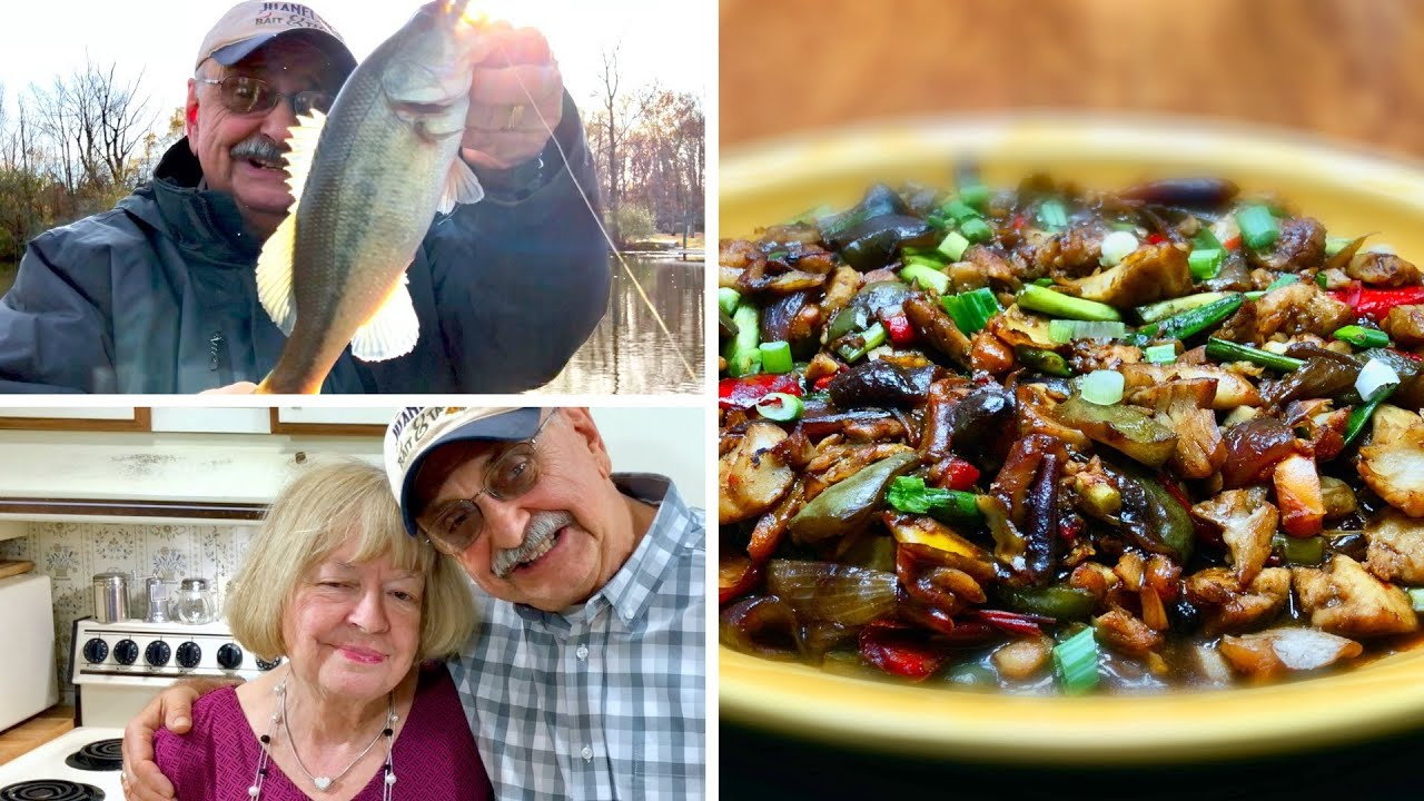 Fishing for Bass in Black Bean Sauce (it's low carb, great for weight loss)