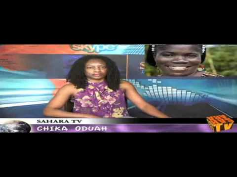 Mae Azango on SaharaTV