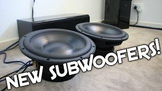 MY NEW SUBWOOFERS! DAYTON AUDIO REFERENCE HO 12