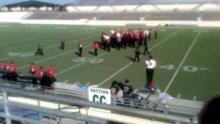 Olney TX Cubs band contest  - Area 5, Denton - 1 of 2 (video interrupted!)