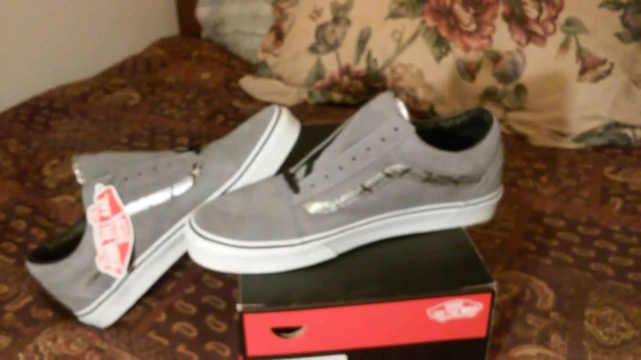 343e62699b Sneaker Game  Vans Old Skool Snakeskin Print Gray Video 213 - YouTube