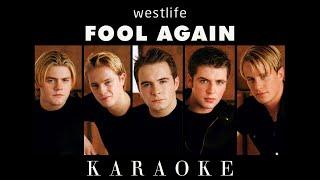 [KARAOKE] Fool Again - Westlife