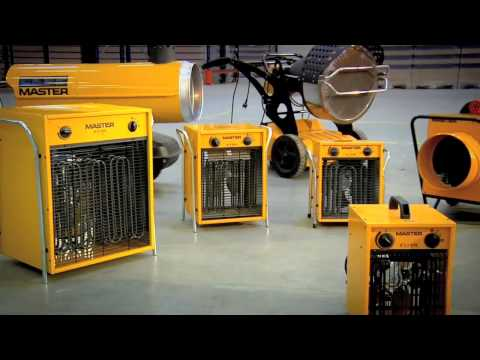 Master space heaters on building sites.mp4
