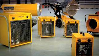 Master space heaters on building sites.m...