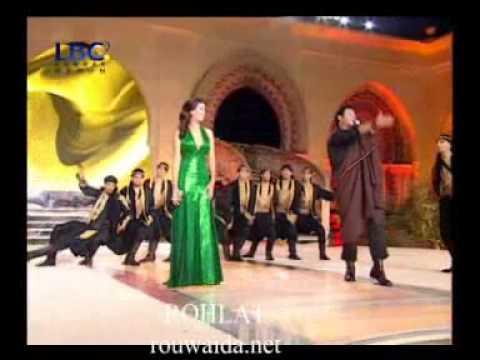 Assi  Hellani & Rouwaida Attieh / رويدا عطية  Miss libanon 2008 ,,sahr l shark,, on LBC