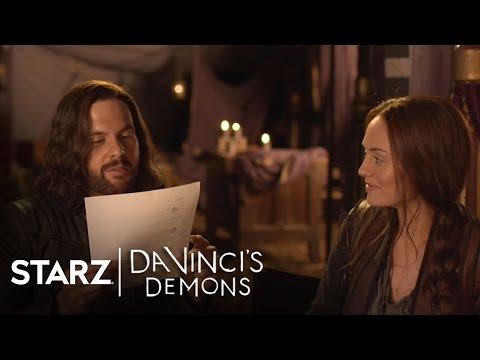 Da Vinci's Demons   Tweets with Tom Riley and Laura Haddock  STARZ