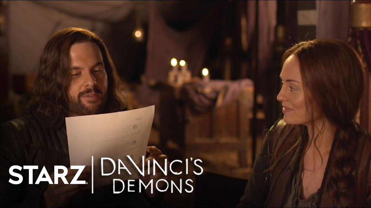 Download Da Vinci's Demons | Fan Tweets with Tom Riley and Laura Haddock | STARZ