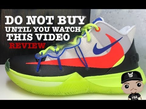 5348a5e4a00 ROKIT x Nike Kyrie Irving 5 Sneaker Detailed Look Review On Feet  NIKE   KYRIE5  ROKIT  SNEAKERNEWS