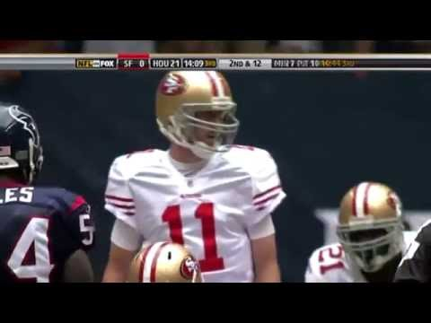 Alex Smith vs Texans (Week 7 - 2009) - 206 Yards + 3 TDs! Earning The Job Back! -  NFL Highlights HD