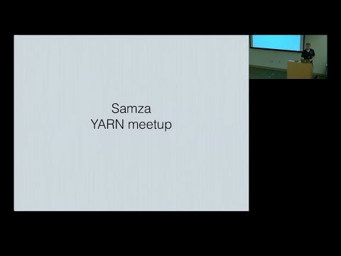 Introduction to Samza (September 27, 2013)