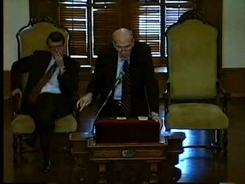 Former US Senator Alan Simpson Delivers Ubben Lecture at DePauw University
