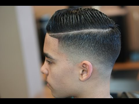 drop fade haircut tutorial