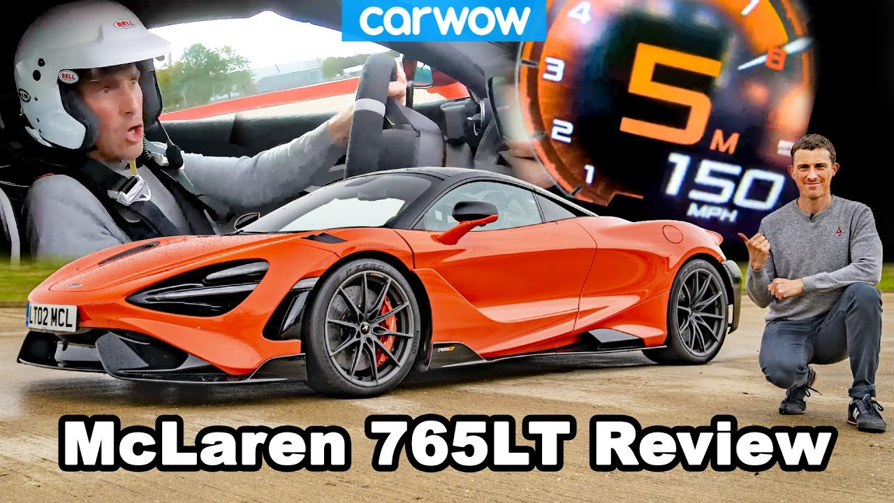 McLaren 765LT review: see how quick it is 0-60, 100 & 150mph - it'll blow your mind!