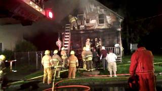 Fire Kills One Person Destroys Pine Street Massena New York Residence
