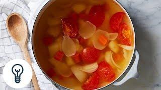 Yi Jun Loh's Coconut Water (Vegan!) ABC Soup | Genius Recipes