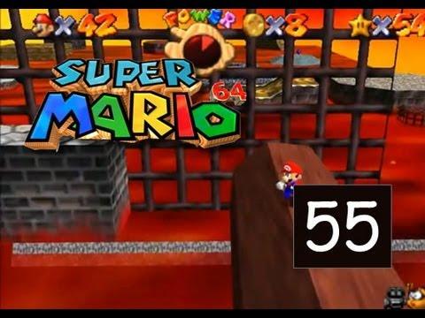 Super Mario 64 - Lethal Lava Land - Red-Hot Log Rolling - 55/120