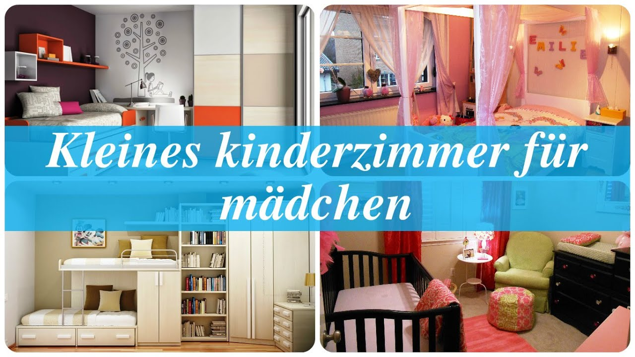 kleines kinderzimmer f r m dchen youtube. Black Bedroom Furniture Sets. Home Design Ideas