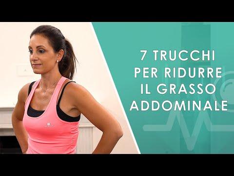 7 trucchi per ridurre il Grasso Addominale