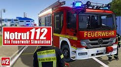 NOTRUF 112 #2: Heimrauchmelder ausgelöst! I Gameplay PREVIEW Notruf 112 die Feuerwehr-Simulation