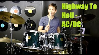 Highway To Hell Drum Tutorial - AC/DC