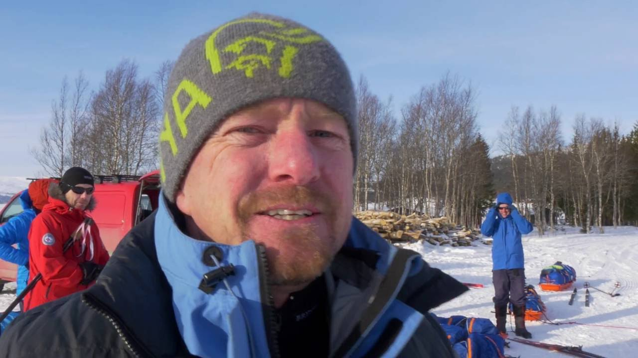 Video thumbnail of A pretty windy Arctic Expedition Course