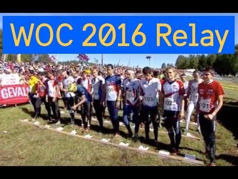 WOC 2016 Relay