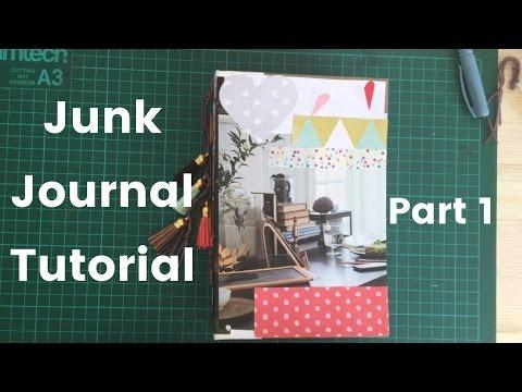 Junk Journal Tutorial Part 1 | Prepping Signatures